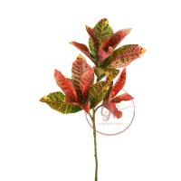 86CM CROTON LEAF SPRAY X 3